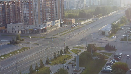 Красноярск: Молокова - 78 Д.Б. - Авиаторов